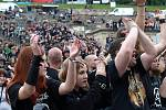 Metalfest v Plzni. Vystoupení kapely Arkona