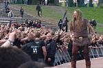 Metalfest v Plzni. Vystoupení kapely Korpiklaani