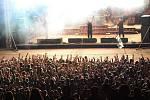 Metalfest v Plzni. Vystoupení kapely Amon Amarth