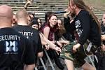 Metalfest v Plzni. Vystoupení kapely Decapitated
