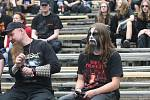 Metalfest v Plzni. Fanoušci festivalu