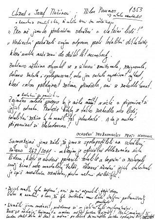 Rukopis Marka Ženíška