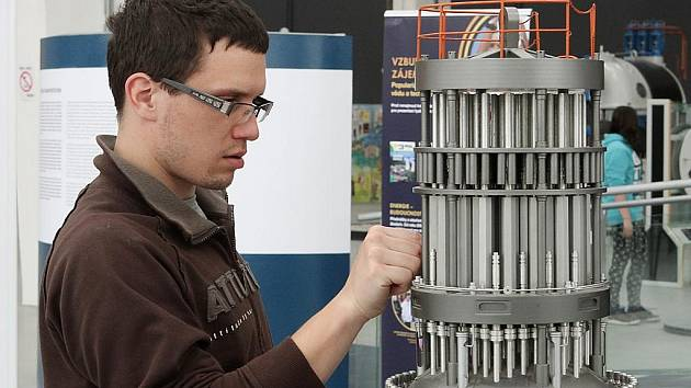Nová expozice v plzeňské Techmanii má název Příběh jaderné energie