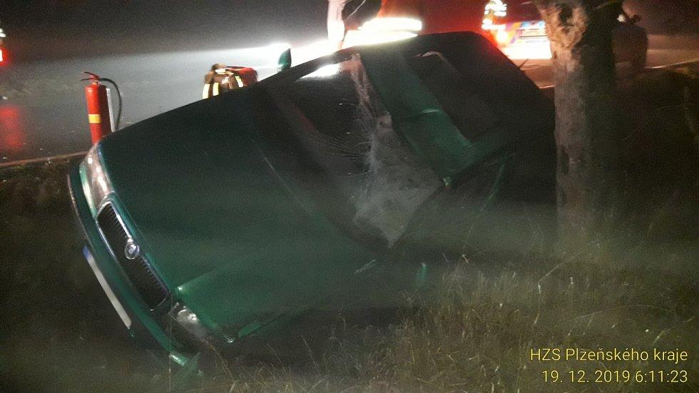 Dopravní nehoda ve Staňkově