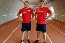Michal Forejt (vlevo) a Jakub Forejt.