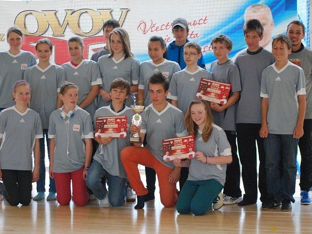 V městském kole Odznaku všestrannosti olympijských vítězů žáků základních škol zvítězil s velkým náskokem tým11. ZŠ z Baarovy ulice v Plzni