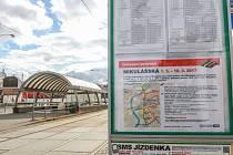 Tramvajová výluka potrvá od 1. do 10. března