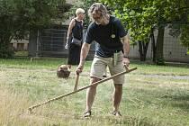 Tradiční řemesla a obhospodařování půdy - workshop sečení trávy