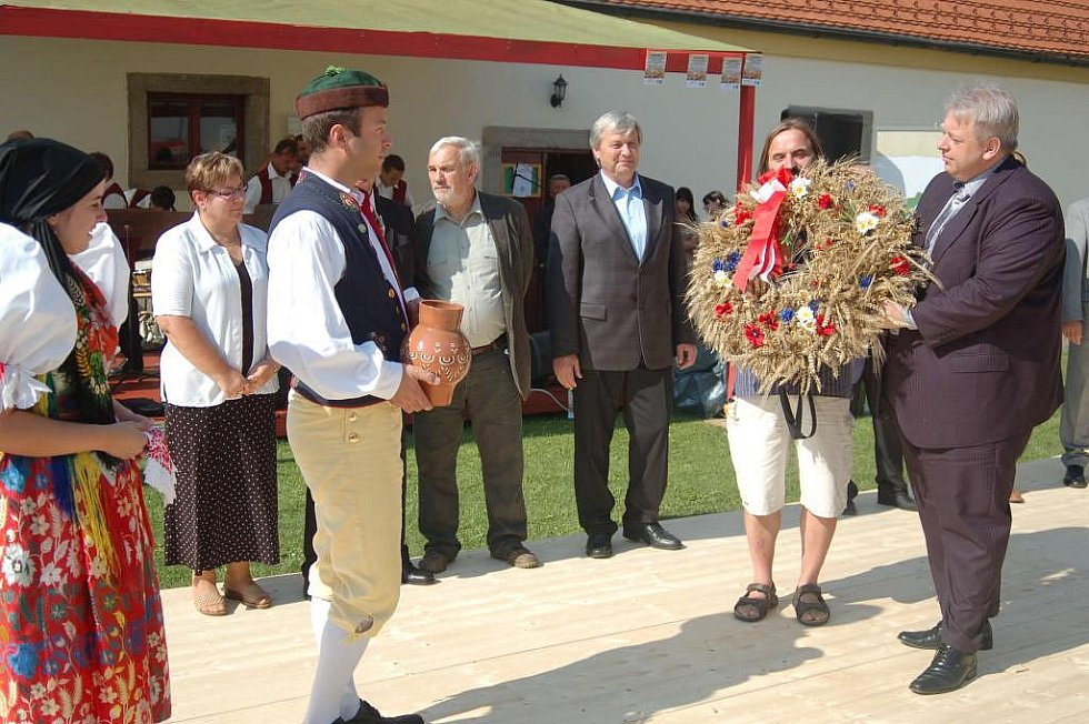 Dožínky Plzeňského kraje v Chanovicích