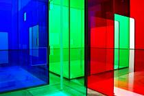 Návštěvníci výstavy se budou moci procházet i barevným spektrem.