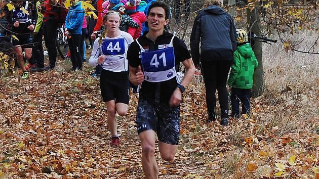 V běhu Třikrát hradišťskou strání byl nejrychlejší Matěj Kamenický (41) před starším dorostencem Martinem Kočandrlem (44).