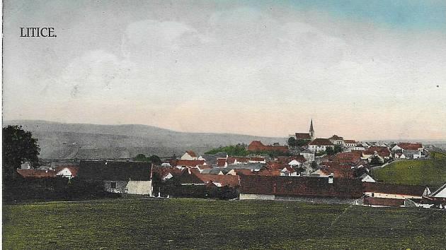 1Litice mezi léty 1900-1905.