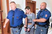 Obžalovaný Shovheniuk u Krajského soudu v Plzni.