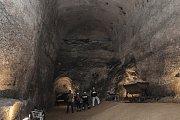 Slavnostní otevření kaolínového dolu v Nevřeni