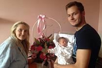 Marek Mazanec si při krátké návštěvě v Plzni užil   chvilky s přítelkyní i novorozenou dcerou Nelly