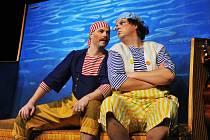 Z představení Divadla Alfa Kolíbá se velryba.