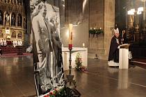 Rozloučení s Václavem Havlem v katedrále sv. Bartoloměje v Plzni