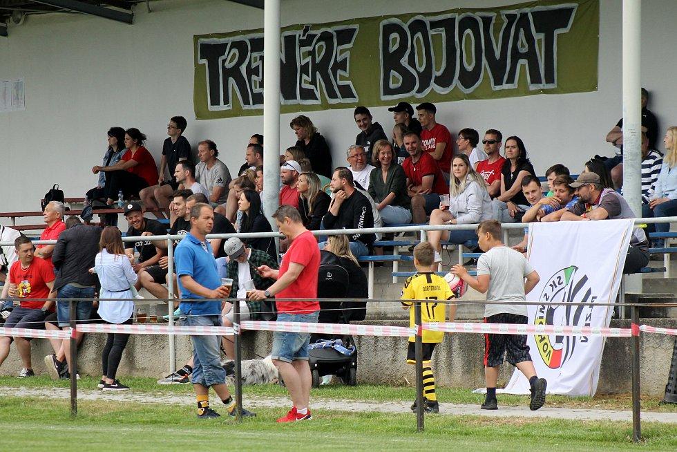 Fotbalem pro Jirku Šámala, Vejprnice 5. června 2021.