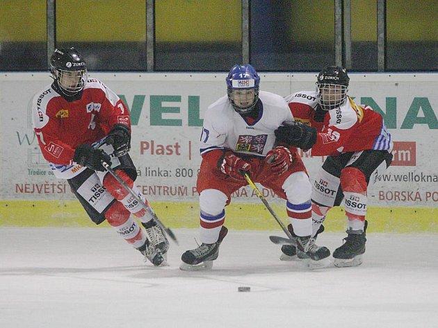 Česká republika U16 - Švýcarsko U16