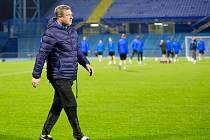 Fotbalisté FC Viktorie Plzeň v Záhřebu.