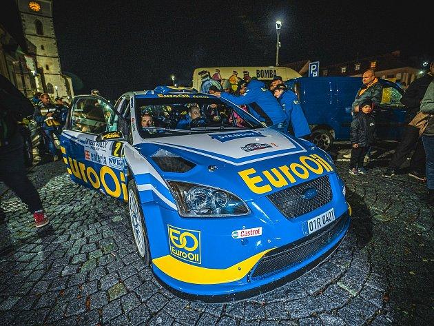 Rally Pačejov (41.ročník) - předstartovní show.
