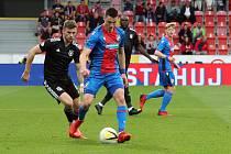 DOMINIK JANOŠEK táhl ve čtvrtečním utkání s CSKA Sofia (2:0) většinu akcí plzeňské Viktorie.