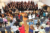 Benefiční koncert Gospel až na dřeň.