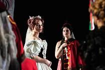 Hned devět jmen spojených s inscenacemi plzeňského Divadla J. K. Tyla se objevilo v nominacích na letošní Cenu Thálie. V užších nominacích je Michaela Štiková Gemrotová (na snímku) za titulní roli v muzikálu Elisabeth.