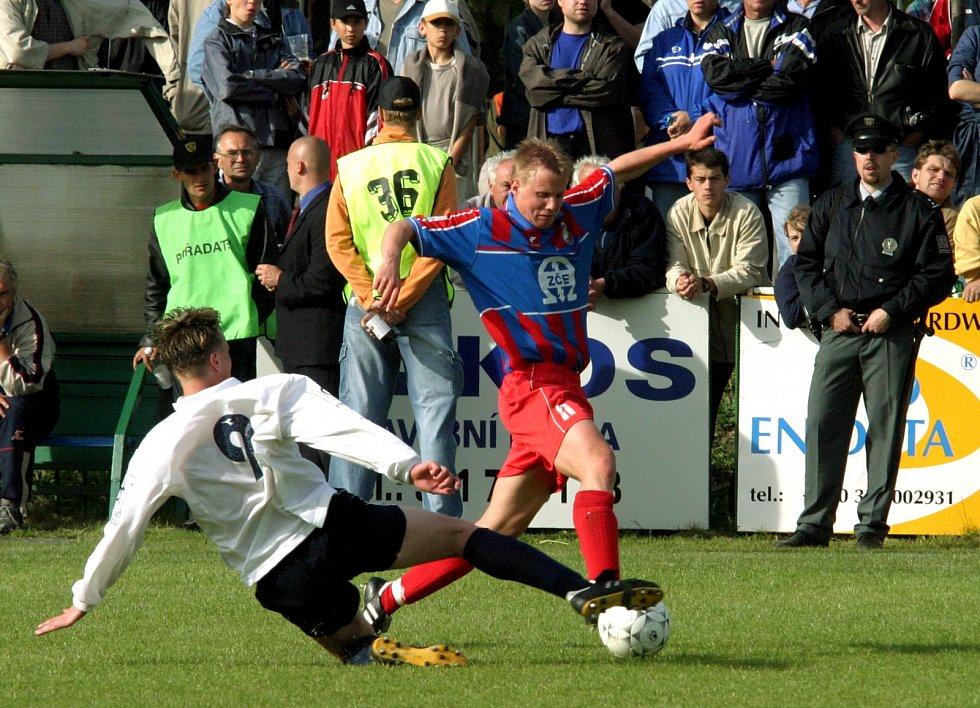 David Limberský v druholigové sezoně 2002/2003.