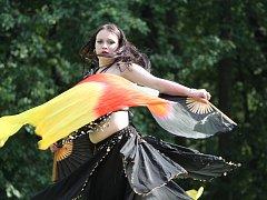 Skupina Pantaleon. Orientální tance.