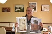 Aukce obrazů v kostelíku U Ježíška