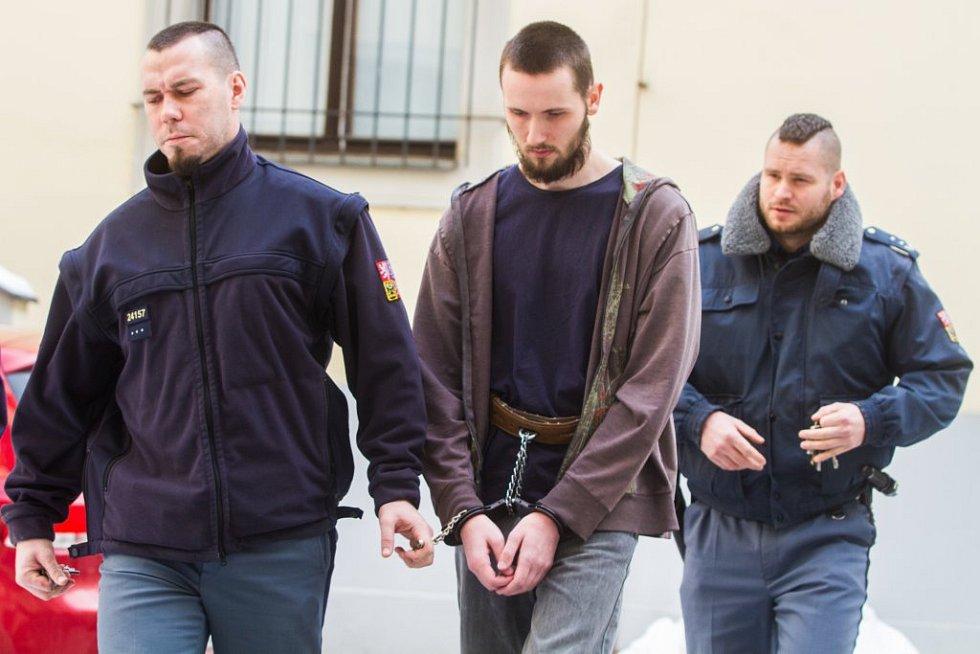 Obžalovaný Jan S. u Krajského soudu v Plzni