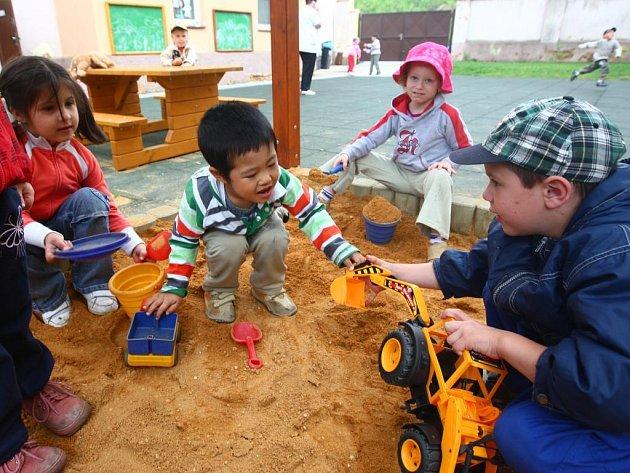 Mateřská školka v Resslově ulici