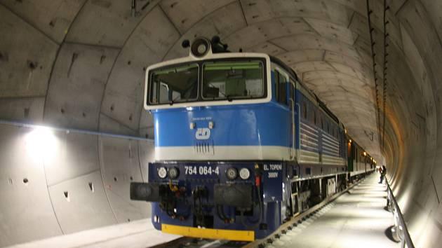 Jižní část Ejpovického železničního tunelu