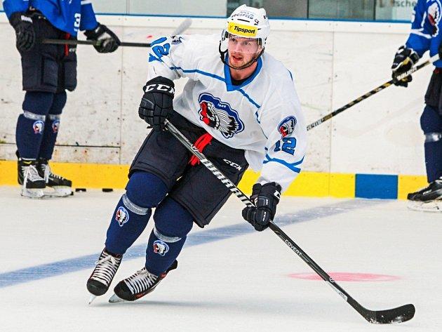Novou tváří v ofenzivě hokejových Indiánů pro nadcházející extraligovou sezonu bude slovenský centr Miroslav Preisinger.