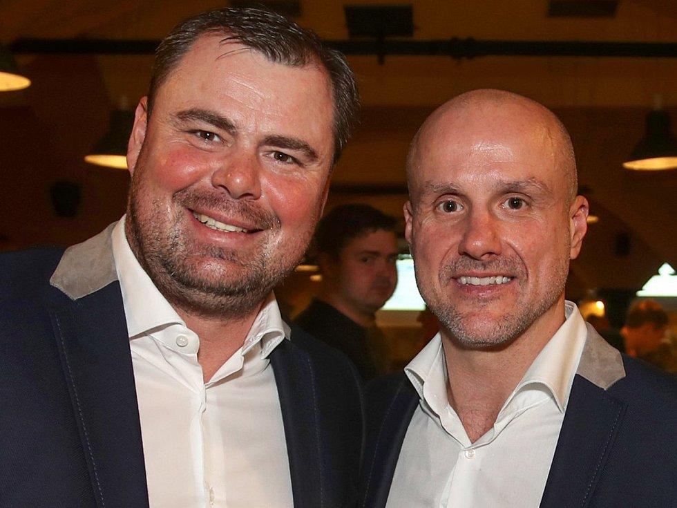 Jaroslav Špaček a Martin Straka