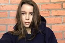 Studentka Michaela Husníková z Domažlicka.