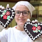Svatý Valentýn v pekárně Malinová
