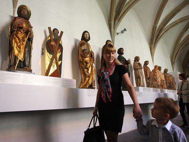 Výjimečný soubor křesťanských reálií můžete vidět v novém Muzeu církevního umění ve františkánském klášteře