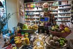 Africké trhy v Plzni během nouzového stavu.
