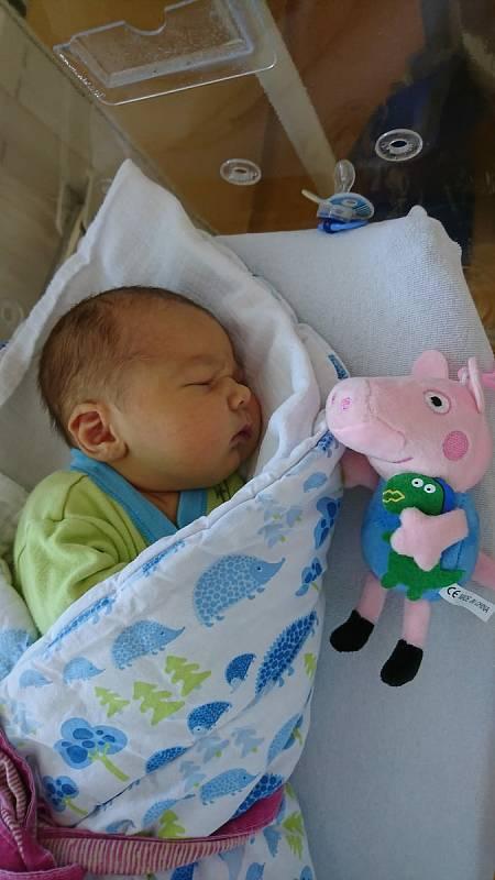 Mireček Černý z Nezamyslic se narodil v klatovské porodnici 1. května 2021 v 16:04 hodin. Na brášku doma netrpělivě čekali bráškové Kubík (8 let) a Martínek (4 roky). Rodiče Eva a Luboš přivítali svého syna na svět společně.