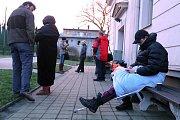 Zápis na základní škole v Újezdě