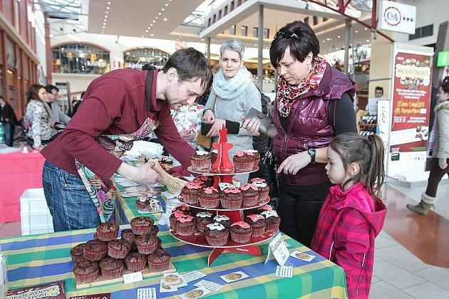 Pastvou pro oči byly během loňského ročníku čokoládové muffiny různých druhů a chutí.