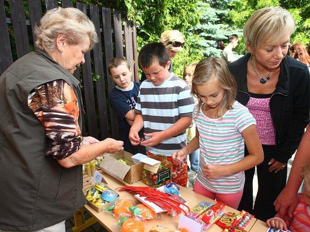 Dětský den na základní škole v Černicích