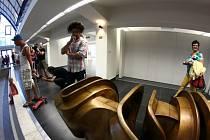 Kunsthalle, která vznikla přestavbou staré kryté plovárny, Košice otevřely až v červenci 2013