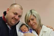 Rodiče Štěpánka a Václav Hajšmanovi z Plzně chovají svoji dceru Beátu (3,39 kg, 520 cm), která se narodila 2. ledna v 9:02 ve FN v Plzni. Doma již na ní čekají sourozenci Aneta (17) a Filip (13)