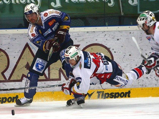 Třetí zápas hokejové play off Plzeň – Pardubice.