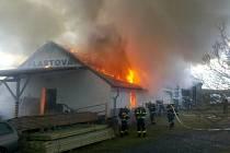 Požár v Druztové