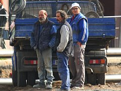 Někteří lidé si stěžují, že práce na rekonstrukci Americké třídy v Plzni nepokračují dostatečně rychle