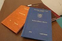 Porovnání bakalářských prací bývalého velitele strážníků Radoslava Sládka a nynějšího velitele Luďka Hosmana